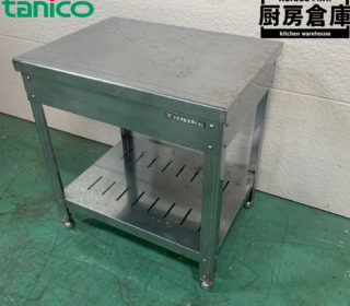【中古】タニコー 作業台 W600XD450XH650mm 5,500円完売しました