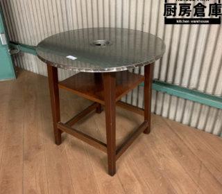【中古】丸テーブル 径800X高さ800mm 8,690円